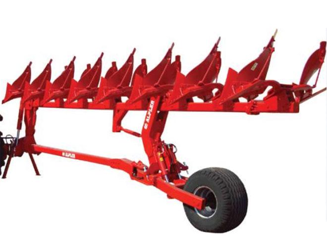 Semi-mounted reversible plow ALPLER YADP08