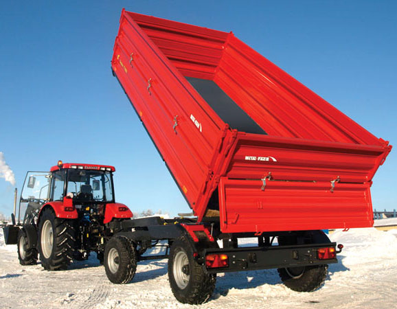 Double axel trailer T710/2