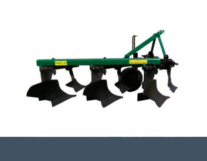 Plow mounted with colter (Veles-Agro)